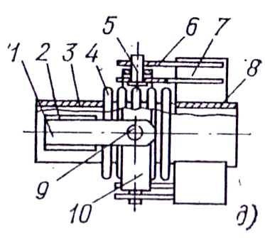 Угловой сильфонный компенсатор с пространственным шарниром