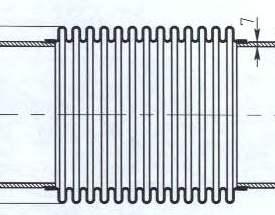 Чертеж трубопроводного компенсатора КСО