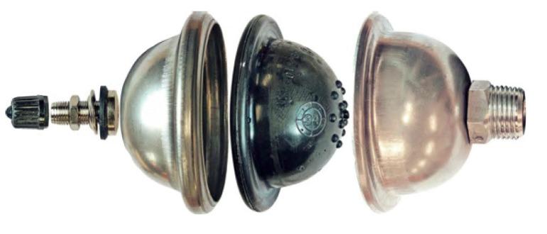 Мембранный компенсатор гидроударов
